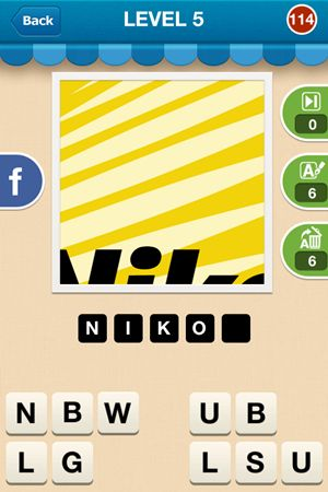 Hi Guess The Brand Level 5 Answer 114