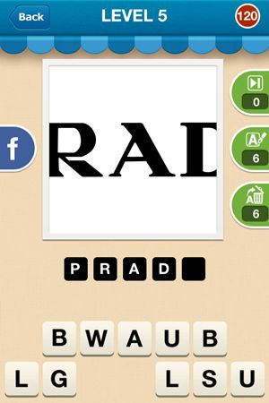 Hi Guess The Brand Level 5 Answer 120