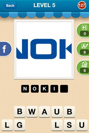 Hi Guess The Brand Level 5 Answer 127