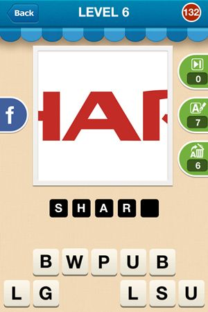 Hi Guess The Brand Level 6 Answer 132