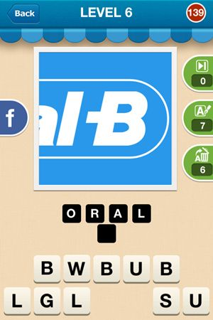 Hi Guess The Brand Level 6 Answer 139