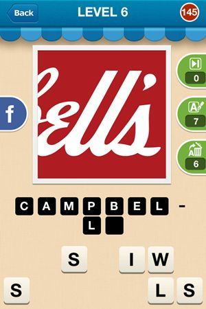 Hi Guess The Brand Level 6 Answer 145