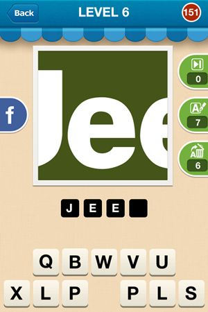 Hi Guess The Brand Level 6 Answer 151