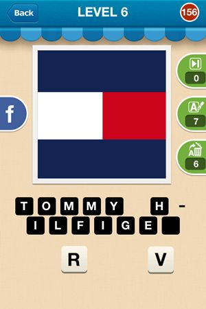 Hi Guess The Brand Level 6 Answer 156