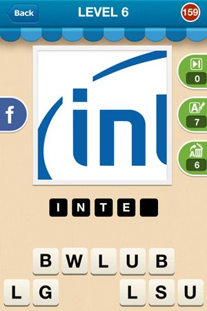 Hi Guess The Brand Level 6 Answer 159