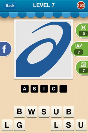 Hi Guess The Brand Level 7 Answer 163