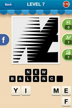 Hi Guess The Brand Level 7 Answer 170