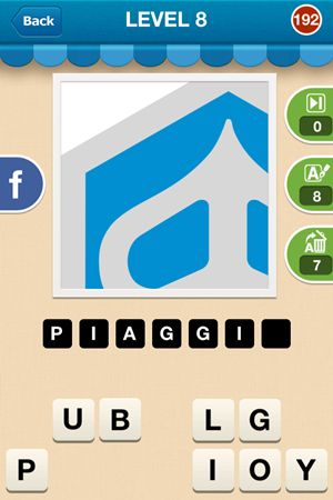 Hi Guess The Brand Level 8 Answer 192