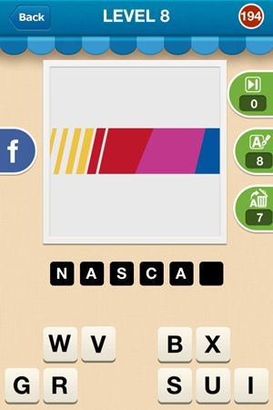 Hi Guess The Brand Level 8 Answer 194