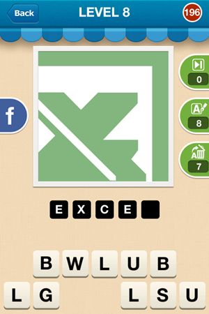 Hi Guess The Brand Level 8 Answer 196