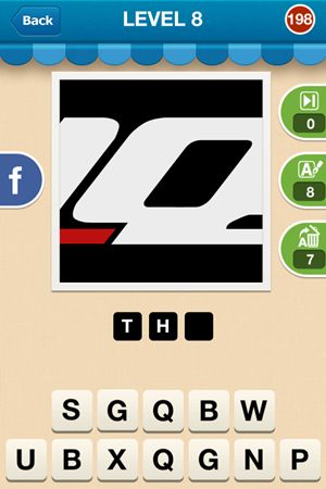 Hi Guess The Brand Level 8 Answer 198