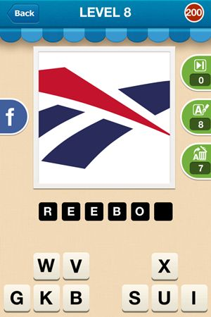 Hi Guess The Brand Level 8 Answer 200