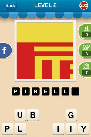 Hi Guess The Brand Level 8 Answer 202