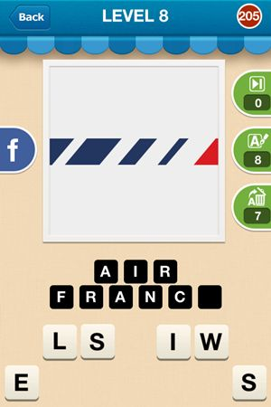 Hi Guess The Brand Level 8 Answer 205