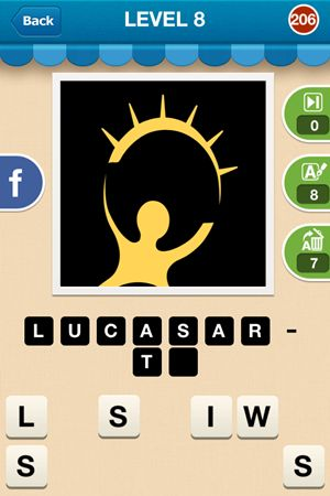 Hi Guess The Brand Level 8 Answer 206