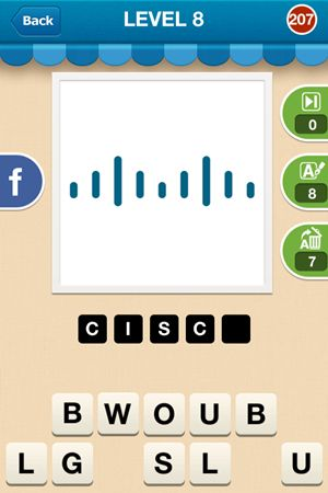 Hi Guess The Brand Level 8 Answer 207