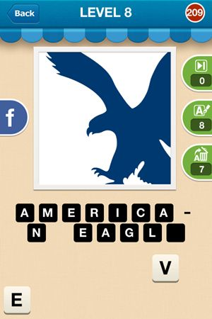 Hi Guess The Brand Level 8 Answer 209