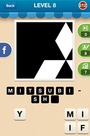 Hi Guess The Brand Level 8 Answer 212