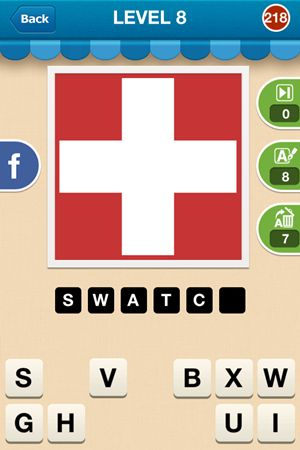 Hi Guess The Brand Level 8 Answer 218