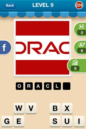 Hi Guess The Brand Level 9 Answer 224
