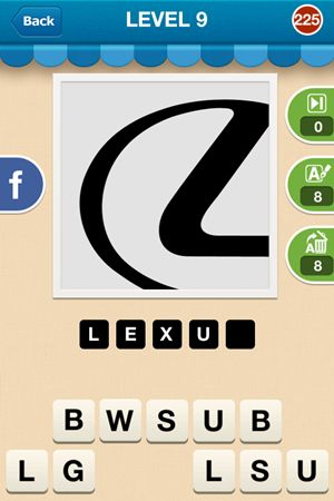 Hi Guess The Brand Level 9 Answer 225
