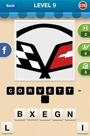 Hi Guess The Brand Level 9 Answer 226
