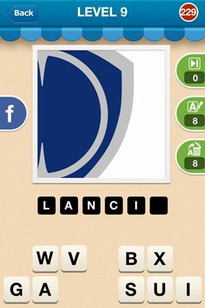 Hi Guess The Brand Level 9 Answer 229