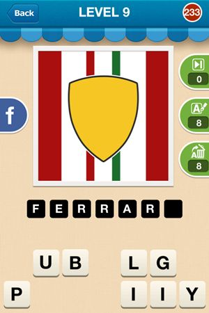 Hi Guess The Brand Level 9 Answer 233