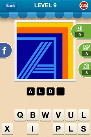Hi Guess The Brand Level 9 Answer 235