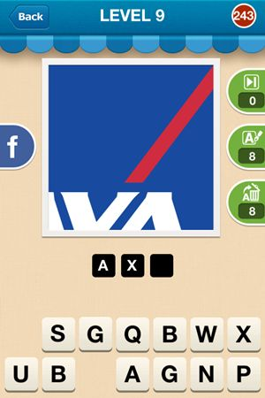 Hi Guess The Brand Level 9 Answer 243
