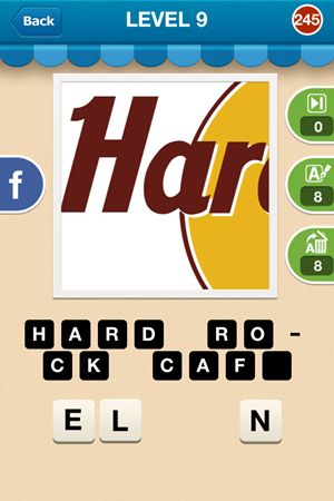 Hi Guess The Brand Level 9 Answer 245