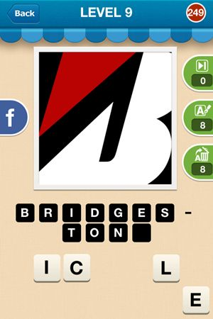 Hi Guess The Brand Level 9 Answer 249