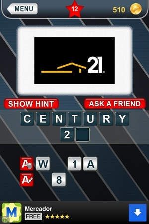 What's That Logo Answers Level 12