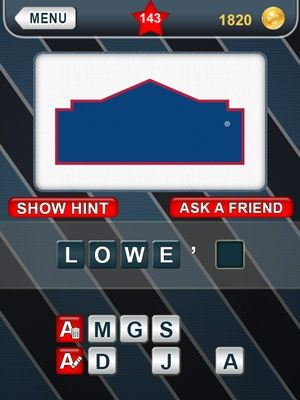 What's That Logo Answers Level 143