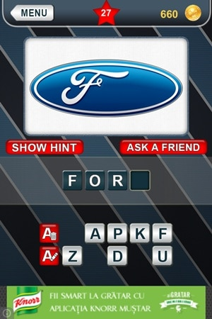 What's That Logo Answers Level 27