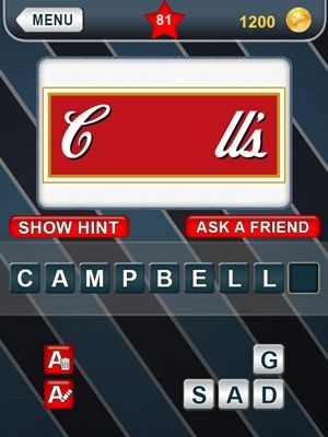 What's That Logo Answers Level 81