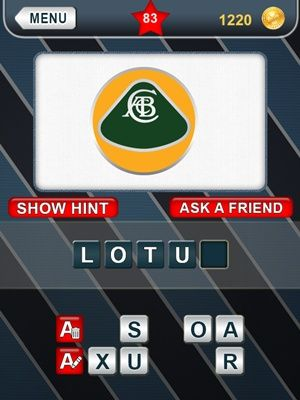 What's That Logo Answers Level 83