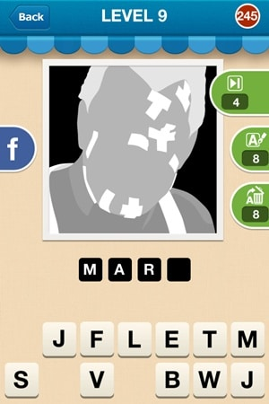 Hi Guess The Character Answers Level 9 - 245