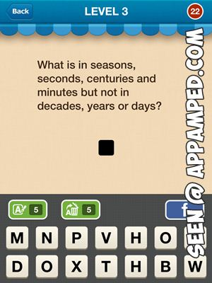 hi guess the riddle answer level 3 - 22