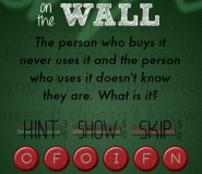 riddle on the wall answer 2