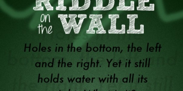 riddle on the wall answers 1