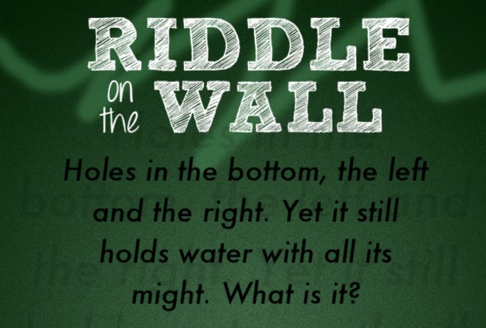 Riddle on the wall answers level 31 level 45 app amped publicscrutiny Images