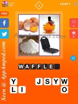 food pop level 1 - 04 answer