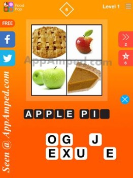 food pop level 1 - 06 answer