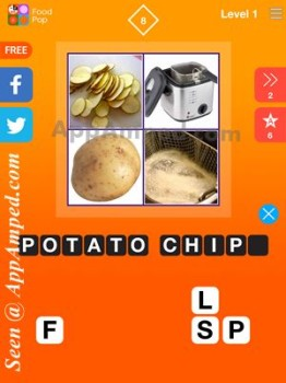 food pop level 1 - 08 answer