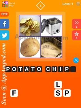 food pop level 1 - 08 answer