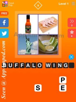 food pop level 1 - 09 answer