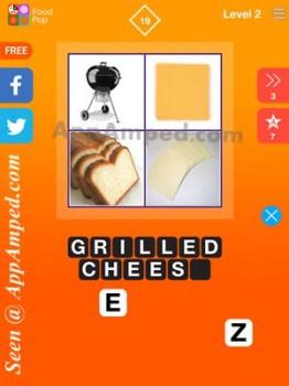 food pop level 2 - 19 answer