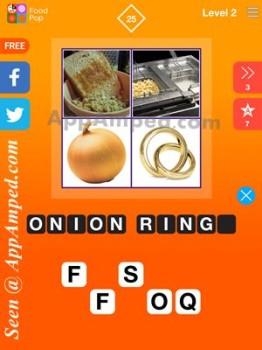food pop level 2 - 25 answer