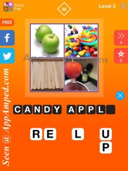 food pop level 3 - 35 answer